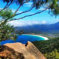 Wineglass Bay Tasmania, Australia.