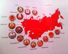 Raspad SSSR-a 1990., nezadovoljne članice proglasile neovisnost.