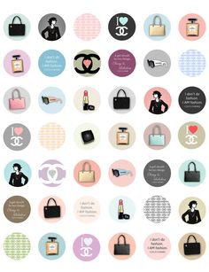 Chanel/ Coco Chanel Themed Printable 1 by ElleCoutureCreations, $1.99