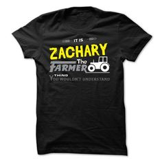 Awesome Tee If your name is ZACHARY then this is just for you T-Shirts #tee #tshirt #named tshirt #hobbie tshirts #zachary