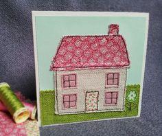 Idea - Handmade new Home card