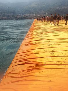 Floating Piers, Italy 2016 Christo and Jeanne-Claude