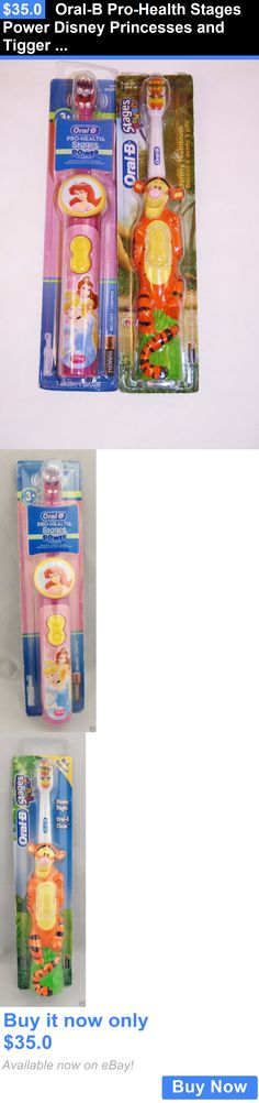 Childrens Oral Care: Oral-B Pro-Health Stages Power Disney Princesses And Tigger Toothbrush Two Pack! BUY IT NOW ONLY: $35.0