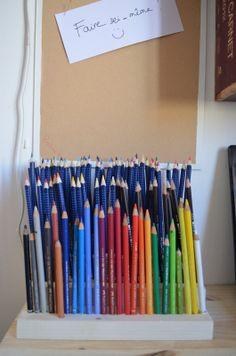DIY : créer son porte-crayons en bois