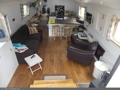 Wide Beam 60 Liveaboard for sale Rv Tent, Trailer Tent, Trailers, Canal Boat Interior, Sailboat Interior, Barge Interior, Dutch Barge, Water House, Floating House