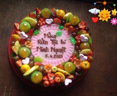 Fruit agar agar