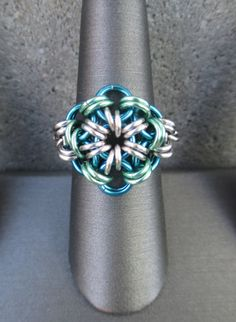 Hey, I found this really awesome Etsy listing at https://www.etsy.com/listing/164463424/mothers-day-ring-chainmaille-ring