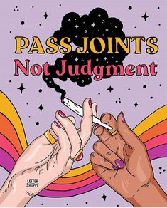 Pass joints not judgment, whether you smoke weed or not. I always think it's weird when I meet someone new and feel like I still have… Marijuana Art, Cannabis, Stoner Art, Weed Art, Manicure Y Pedicure, Dope Art, Smoking Weed, Psychedelic Art, William Morris