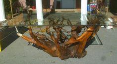 muebles de raices de madera - Buscar con Google