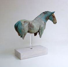 Unique and Limited Edition Ceramic and Bronze Sculpture. Sculptures Céramiques, Horse Sculpture, Sculpture Clay, Bronze Sculpture, Ceramic Sculptures, Ceramic Sculpture Figurative, Abstract Sculpture, Ceramic Animals, Ceramic Art