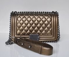 3d5c0717207 New Arrival High Quality LE BOY Lambskin Leather Flap bag women s Name  Brands Designer Quilted Chain