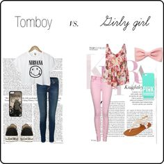 GIRLy giRL vS. tOmbOy on Pinterest | Tomboys, Girly Girl and Girly