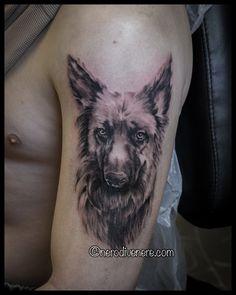 #tattoo #portrait #dog #selfie #tattooist #illustration #artwork #sketch #ink #artist #watercolor #trashpolka #tattooidea #drawing #inkmaster #tattooartist