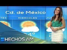 Pronóstico del tiempo con Vaitiare Mateos (3). Martes 22 septiembre 2015 - YouTube