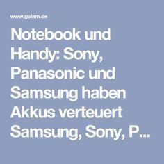 Notebook und Handy: Sony, Panasonic und Samsung haben Akkus verteuert  Samsung, Sony, Panasonic und Sanyo haben ein Preiskartell gegen Verbraucher gebildet. Weil Samsung das offengelegt hat, muss das Unternehmen keine Strafe zahlen - die anderen insgesamt 166 Millionen Euro.  Die Europäische Kommission hat gegen Sony, Panasonic und Sanyo eine Geldbuße von insgesamt 166 Millionen Euro verhängt. Das gab die EU-Kontrollinstanz am 12. Dezember 2016 bekannt. Die Unternehmen haben laut…