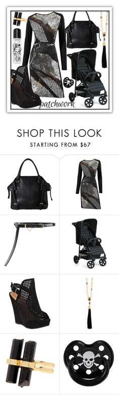 """""""Mommy Means Business"""" by jazzola-19 ❤ liked on Polyvore featuring Diophy, Nina Ricci, Chinese Laundry, Oscar de la Renta, House of Harlow 1960 and Rock Star Baby"""