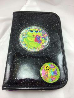 Lisa Frank Fantastic Fashions Journal Notebook Planner Groovy Frog Butterfly #LisaFrank
