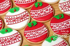 Mini galetes de nadal / Mini galletas de navidad