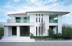 ホーム > 戸建住宅 > 商品紹介 > 多彩な外観イメージ > 線で構成するスタイリッシュな家