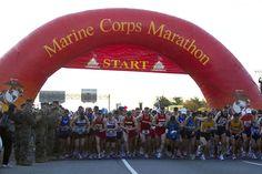 Marine Corps Marathon http://www.runnersworld.com/bucket-list-races/bucket-list-10-great-marathons-for-first-timers/marine-corps-marathon