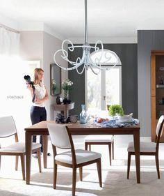 Moderní dřevěný nábytek do jídelny od Bruno Piombini http://www.saloncardinal.com/bruno-piombini-f65