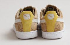 Puma Suede 'Tropicalia' Curds & Whey/Yellow