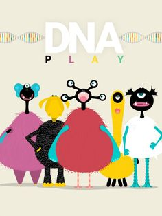 DNA Play Science App for Kids-Introduce kids to the field of genetics with this new open-ended play app for kids ages 4-9.