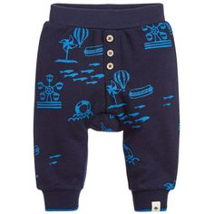 Ideal for relaxing and playing, these soft piqué joggers by Billybandit are roomy enough in all the right places so that little boys will feel comfortable all day.