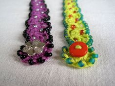 Mr. Micawber's Recipe for Happiness: Sea Anemone ~ A Beaded Bracelet Pattern & Tutorial