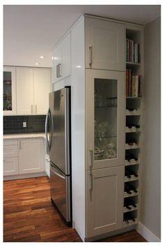 Kitchen Room Design, Kitchen Cabinet Design, Kitchen Redo, Home Decor Kitchen, Interior Design Kitchen, Home Kitchens, Kitchen Ideas, Ikea Kitchen Inspiration, Island Kitchen