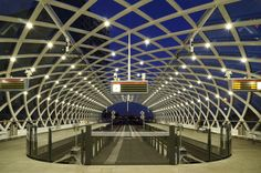 All was quiet... - leuntje - The Hague/Den Haag Netherlands Central Station  Randstad Rail E-line terminus Designed by Zwarts & Jansma Architects   -  http://ift.tt/2iR3cx6 IFtemppicpinned in Building blocksdownld in ios #January 8 2017 at 12:51PM#via IF