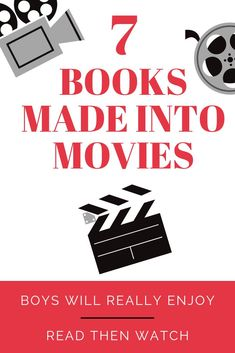 Older boys will really enjoy these books that were made into movies. Read the book with them then watch the movie together. Includes activity ideas as well! A great way to bond with your boy.