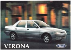 1996 Ford Verona - Brasil Verona, Argentina South America, Ford Escort, Car Advertising, Ford Motor Company, All Cars, Fiat, Cars And Motorcycles, Truck Parts