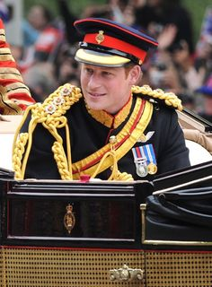 Prince Harry on his brother wedding day