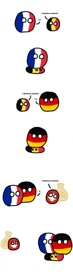 Belgium can't be neutral