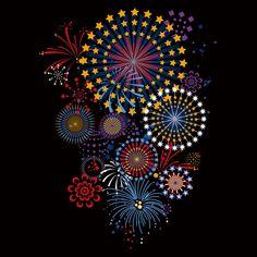 Digital fireworks