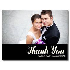 SWEET THANKS  | WEDDING POSTCARD