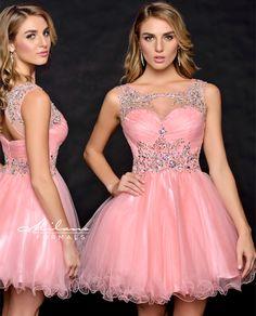 Short Pink Prom Dress