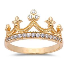 Yellow Gold Plated Cubic Zirconia Crown .925 Sterling Silver Ring http://www.amazon.com/gp/product/B00SNNR3KQ/ref=as_li_qf_sp_asin_il_tl?ie=UTF8&camp=1789&creative=9325&creativeASIN=B00SNNR3KQ&linkCode=as2&tag=emilbeni-20&linkId=3NXRR2P2X4KT2H26