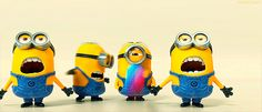 Check out all the awesome minion gifs on WiffleGif. Including all the minions gifs, despicable me gifs, and ich einfach unverbesserlich gifs. Gif Minion, Amor Minions, Despicable Me Funny, Minion Humour, Minions Cartoon, Cute Minions, Minion Movie, Funny Minion, Minion Videos