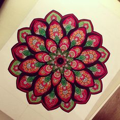 Mandala by Gromova_Ksenya on Flickr.