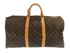 ルイヴィトン ボストンバッグ モノグラム キーポル50 M41426 ヴィトン バッグ 旅行用バッグ トラベル Louis Vuitton Speedy Bag, Travel Bag, Louis Vuitton Monogram, Bags, Handbags, Dime Bags, Lv Bags, Purses, Bag