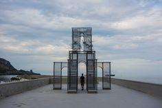 Temporary installation – Marina di Camerota (SA) – Italy