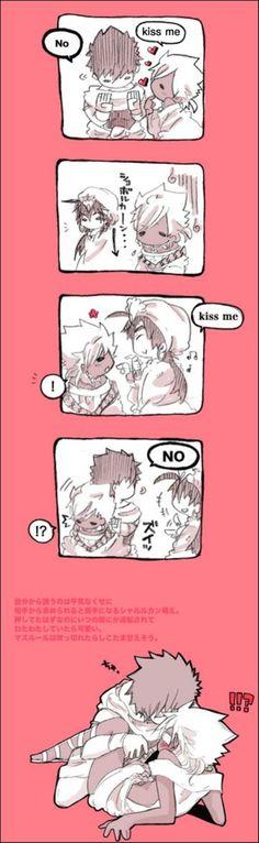kisss me - no - kiss me - no