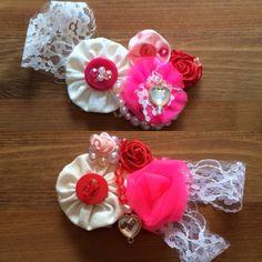 Valentine hair clips 4/5