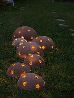 u morkusovic: morkusovic vánoční keramika aneb něco pro svíčky