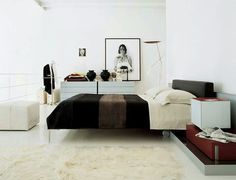 CHARLES BED DESIGN BY ANTONIO CITTERIO