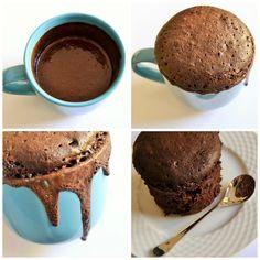 brownie al microones, by myworldofwool.com