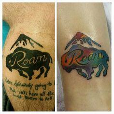 tattoos on pinterest moon tattoos raven and buffalo tattoo. Black Bedroom Furniture Sets. Home Design Ideas