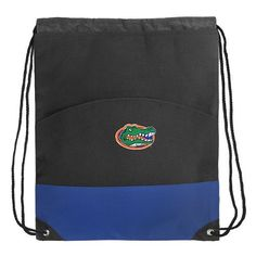 "Florida Gators Drawstring Bag Backpack Royal University of Florida Draw String Back Pack - For Boys Girls Students or Adults by Broad Bay. $16.99. Our durable drawstring Florida Gators backpack cinch bag keeps everything secure and at your fingertips. Features a double drawstring cinch closure, durable 600 Denier fabric, and a large exterior pocket. 13"" x 16"" when flat."